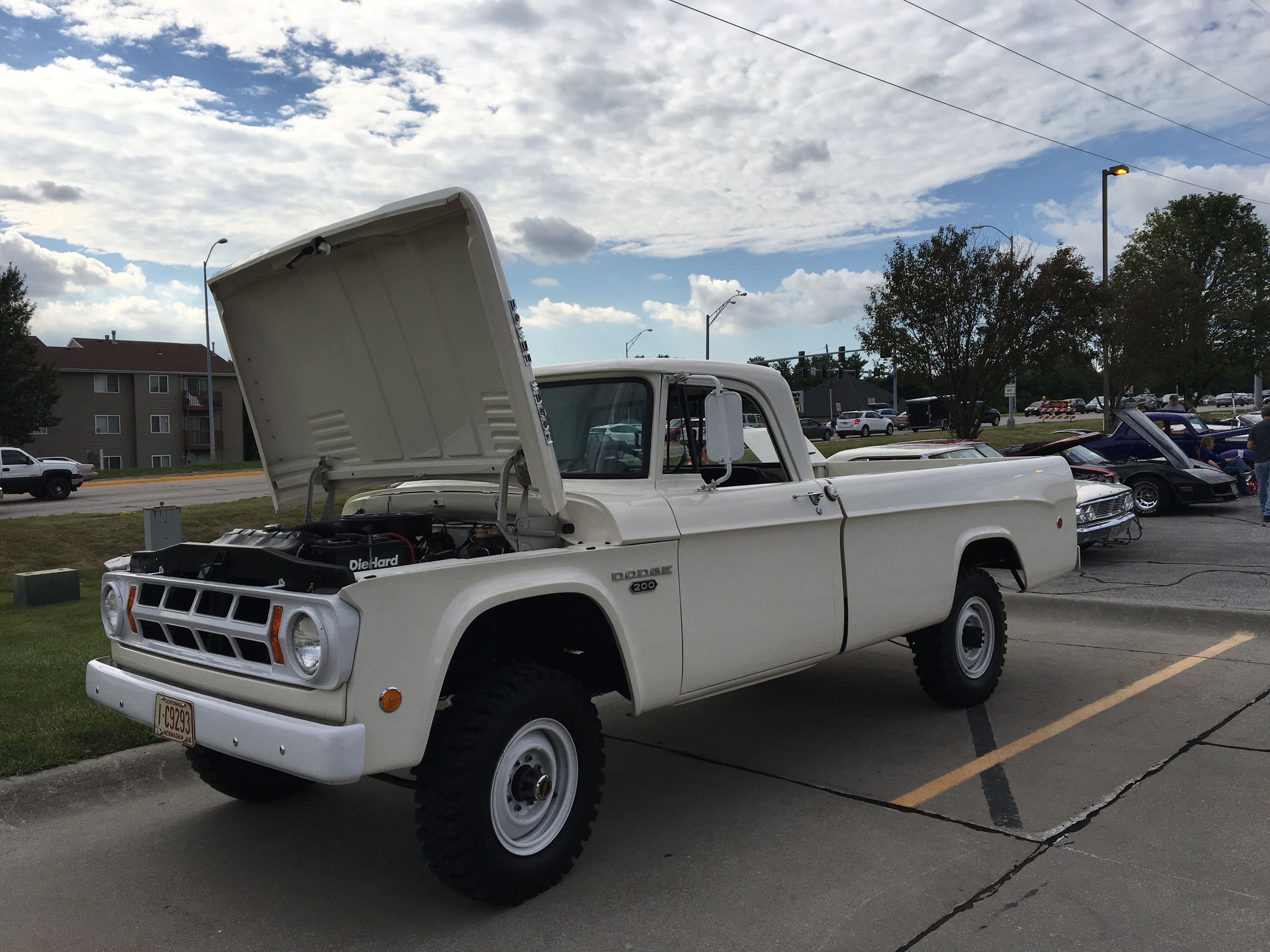 Mopar Garage 1968 Dodge Power Wagon Pick Up Here Is A Pristine In Regular Cab Long Box Version This Beefy Truck As Tons Of Torque To Push The Vehicle Around With 456 Gear