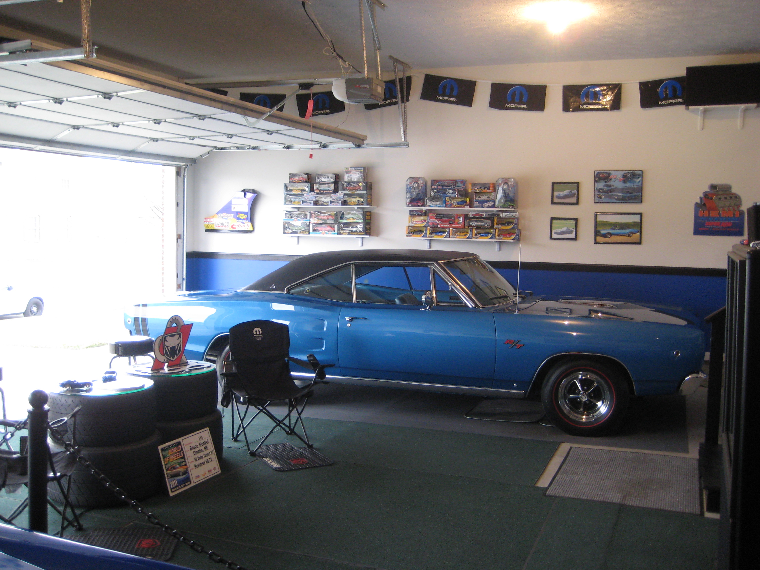 Man Cave Car Decor : Mopar garage man cave